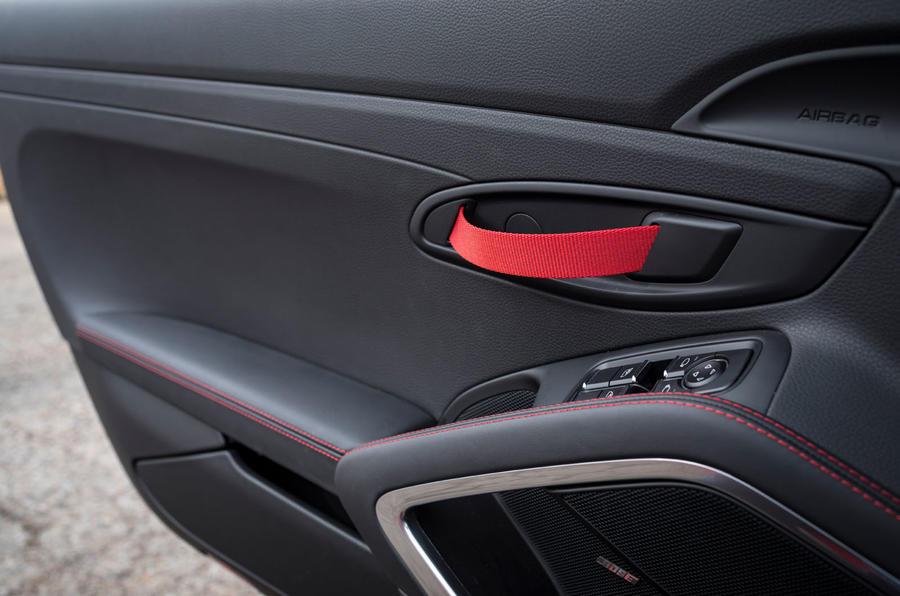Porsche Boxster T 2019 first drive review - door handles