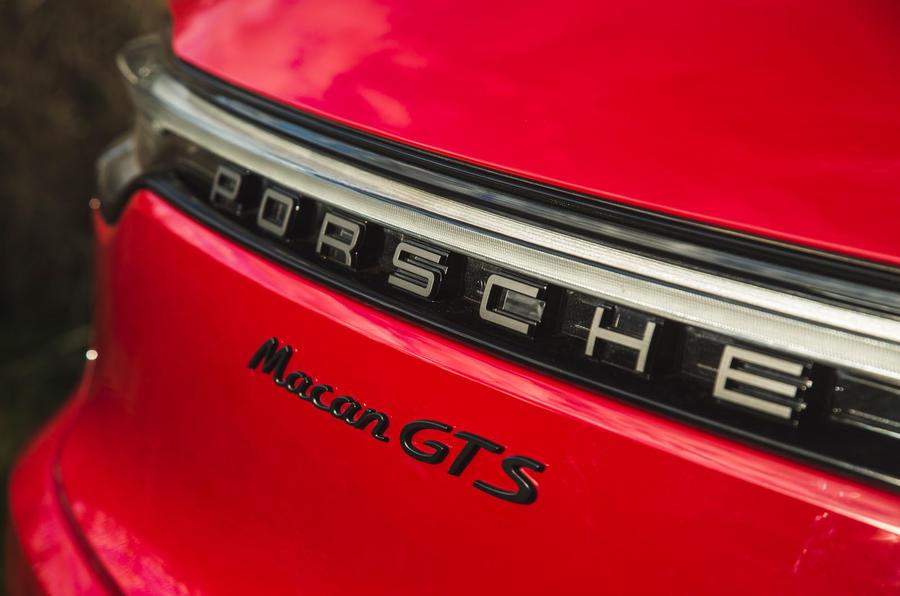 Porsche Macan GTS 2020 UK first drive review - rear lights