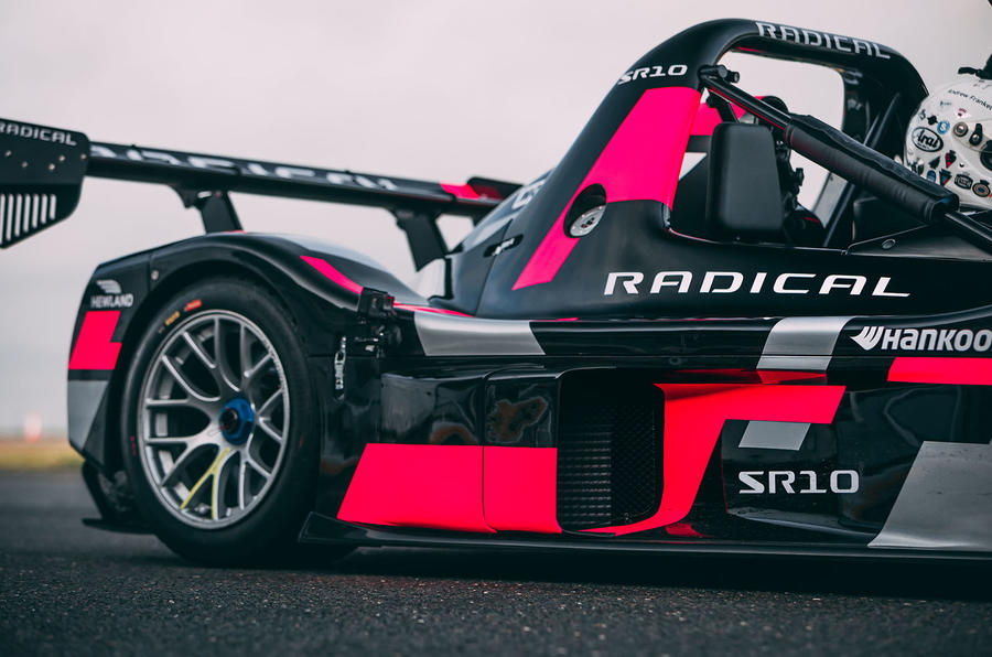 Radical SR10 2020 UK first drive review - rear end