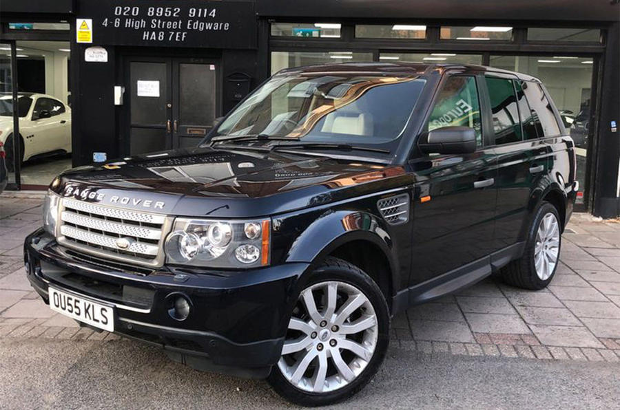 Range Rover Sport - static front