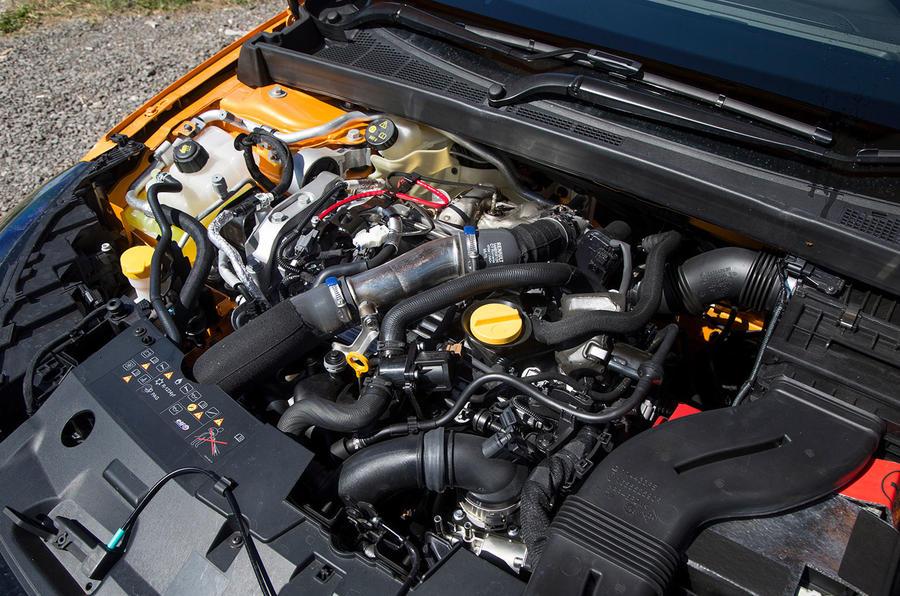 Renault Megane RS 2018 UK first drive engine