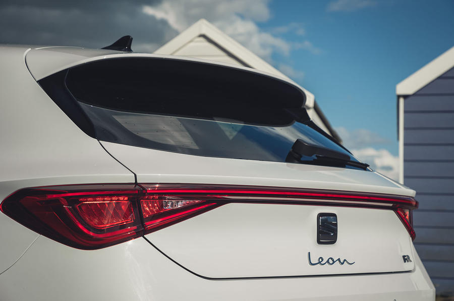 Seat Leon 2020 UK first drive review - rear end
