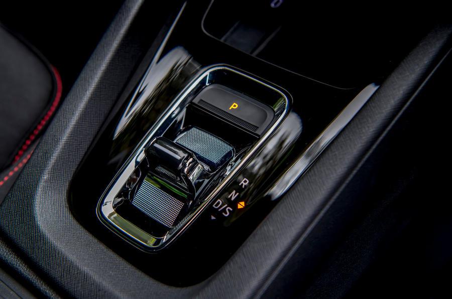 Skoda Octavia vRS TDI 2021 UK first drive review - centre console