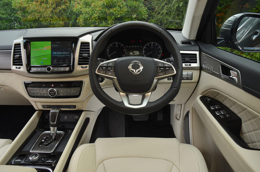 Ssangyong Rexton longterm review driving position