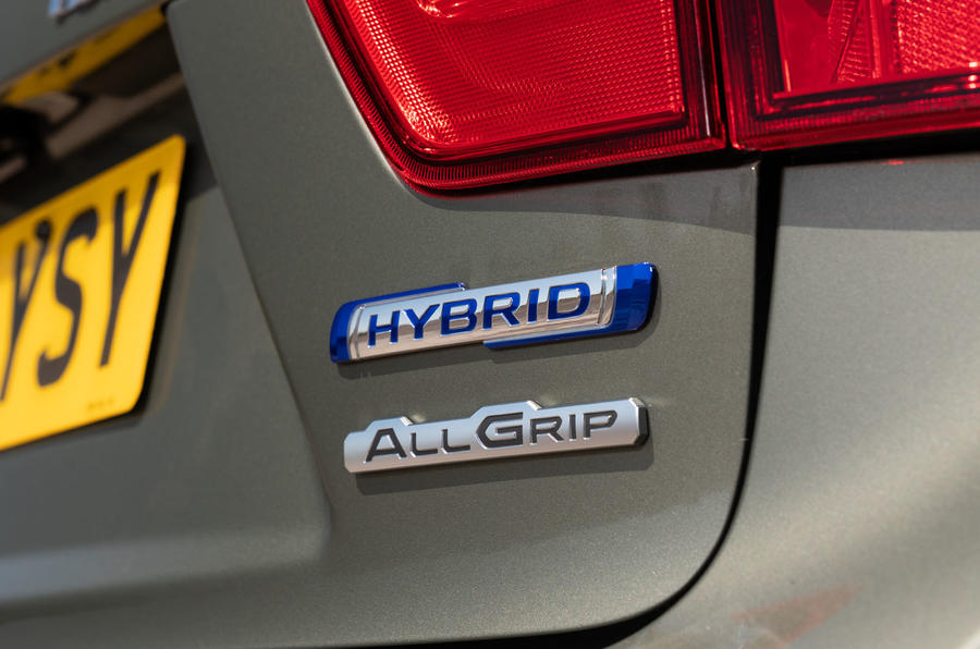 Suzuki Ignis hybrid 2020 UK first drive review - rear badge
