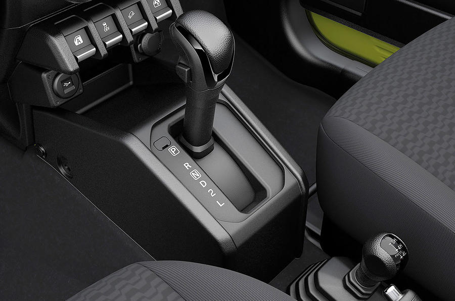 Suzuki Jimny 2018 first drive review gearbox