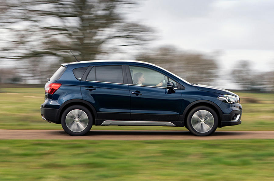 Suzuki SX4 S-Cross Hybrid 2020 UK first drive review - on the road side