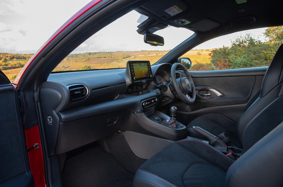 Toyota GR Yaris 2020 UK first drive review - cabin