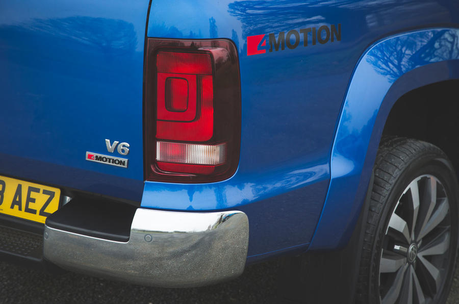 Volkswagen Amarok Aventura 2019 first drive review - rear lights