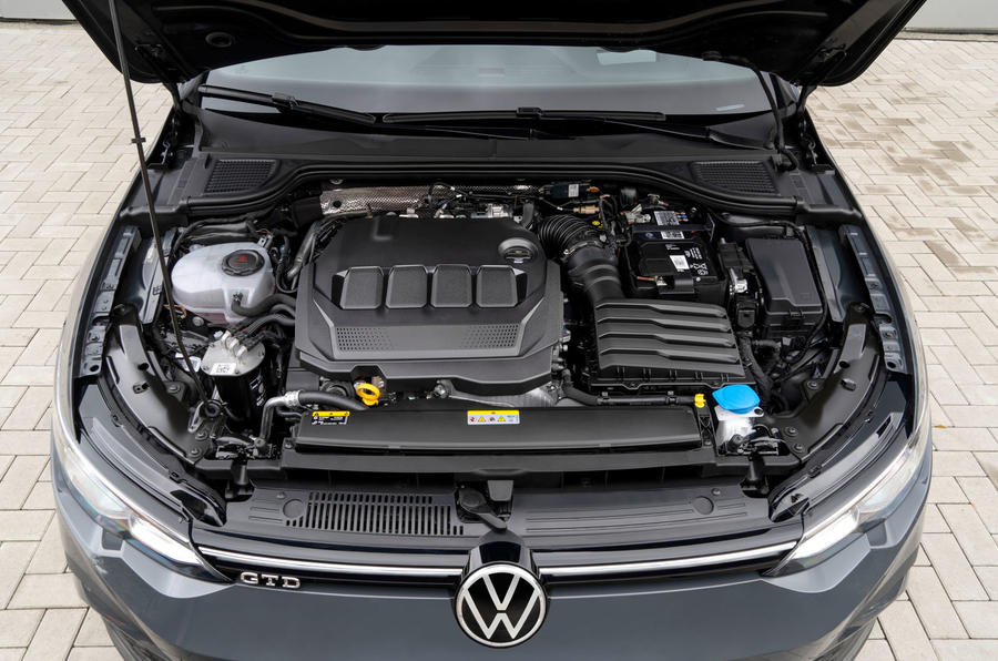 Volkswagen Golf GTD 2020 first drive review - engine