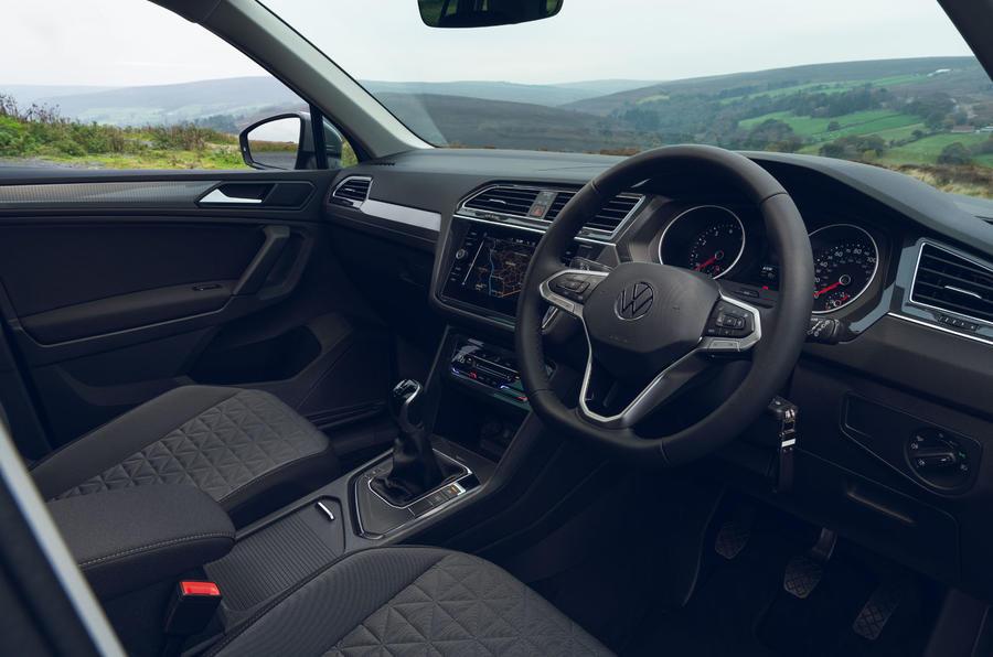 Volkswagen Tiguan Life 2020 : premier bilan de conduite au Royaume-Uni - tableau de bord