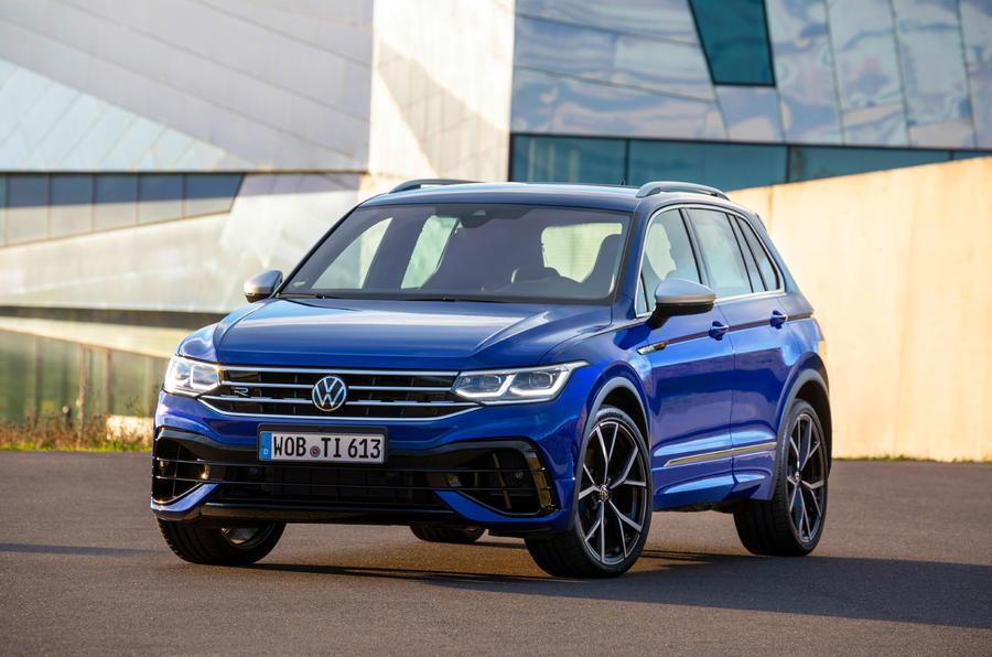 Volkswagen Tiguan R 2020 : premier bilan de la conduite - avant statique