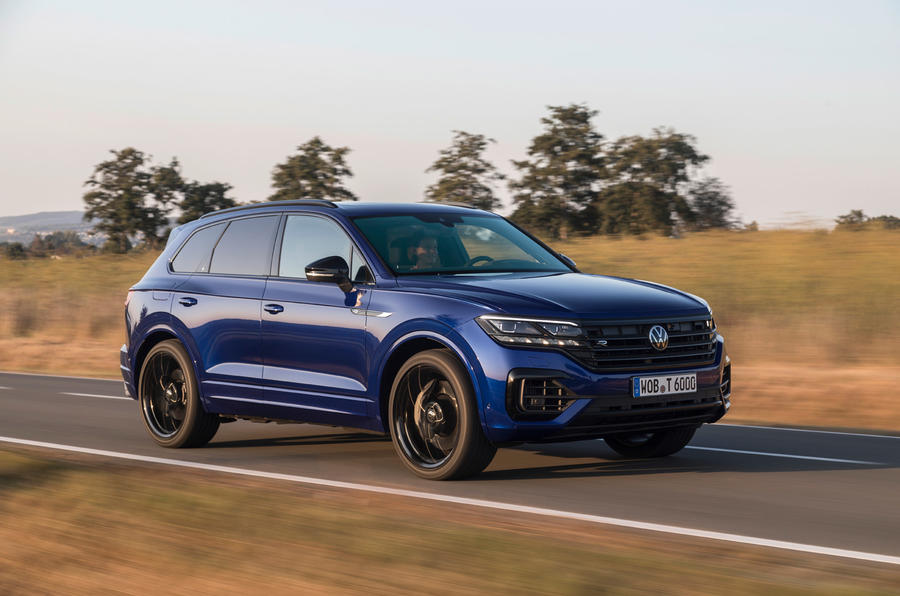 Volkswagen Touareg R 2020 first drive review - on the road front