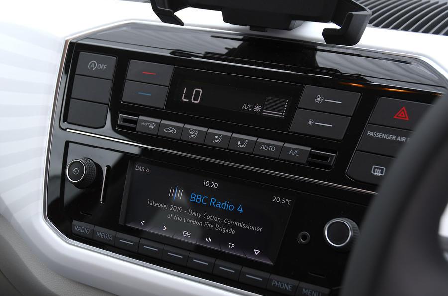 Volksawgen Up 1.0 2020 UK first drive review - infotainment