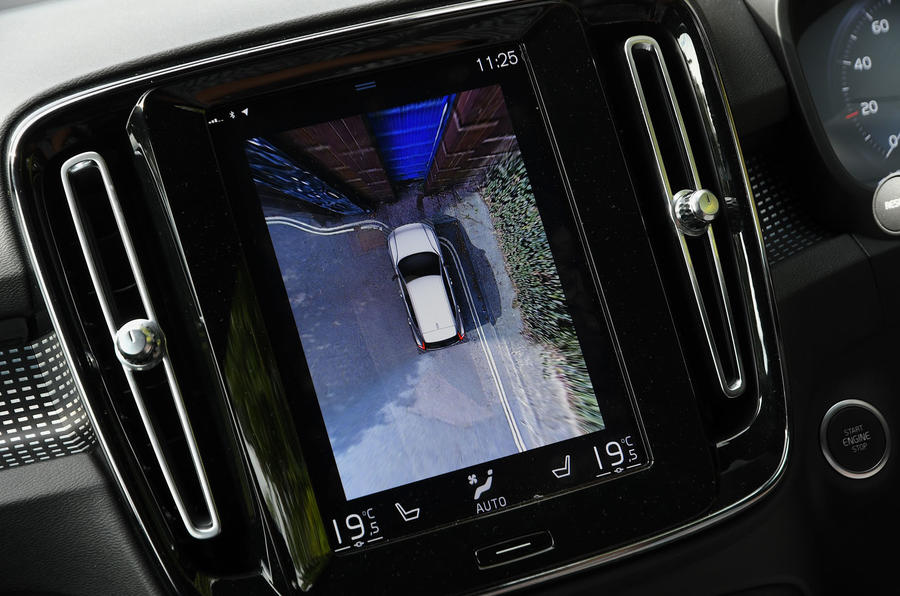 Volvo XC40 2018 long-term review - parking cameras