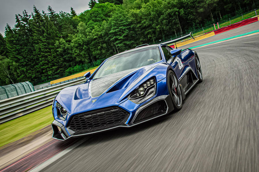 Zenvo TSR-S 2019 first drive review - cornering