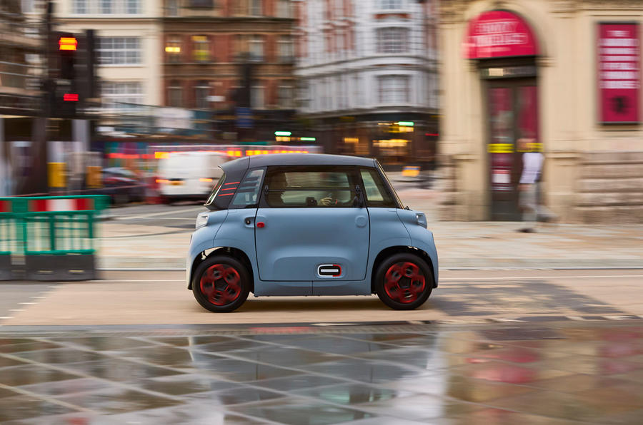 Citroen Ami (LHD) 2020 UK first drive review - London side