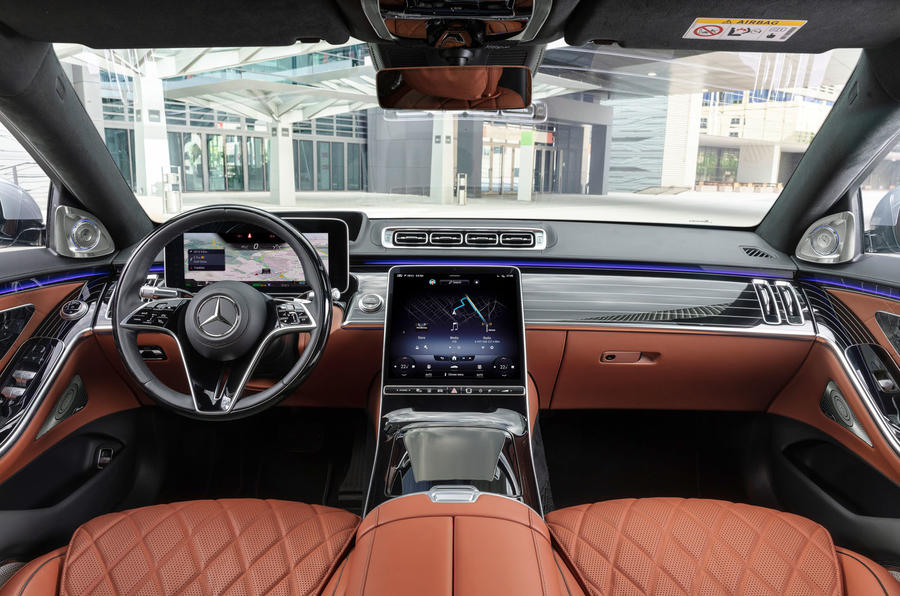 2021 Mercedes-Benz S-Class official reveal images - interior