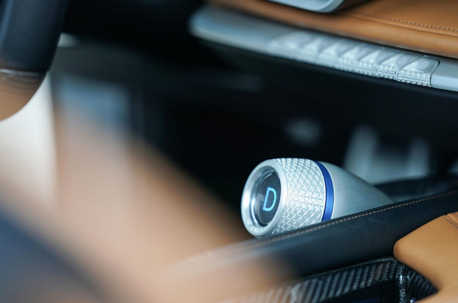 Pininfarina Battista customer preview event - drive mode select