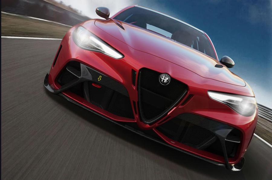Alfa Romeo Giulia GTA 2020 - tracking front