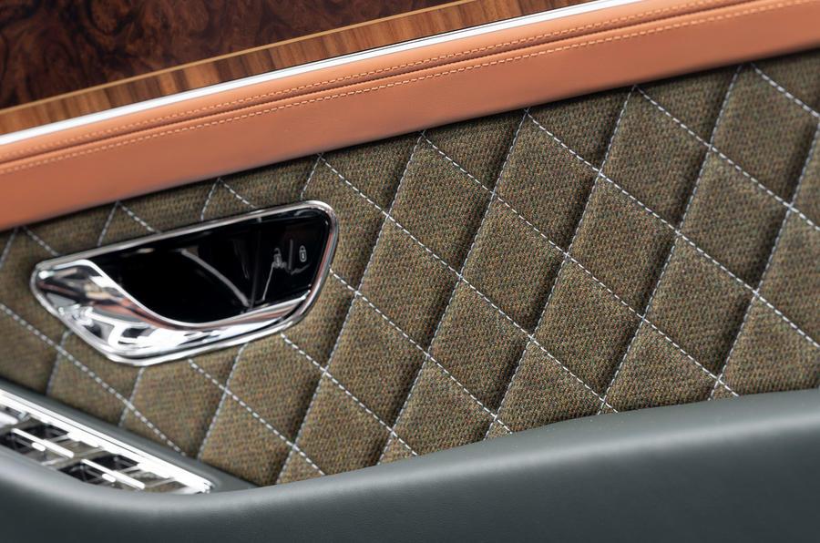 Bentley Mulliner Continental GT Convertible Equestrian Edition 2020 - door inlay