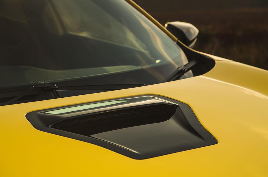 Britain's best affordable drivers car 2020 - Honda Civic Type R limited - bonnet