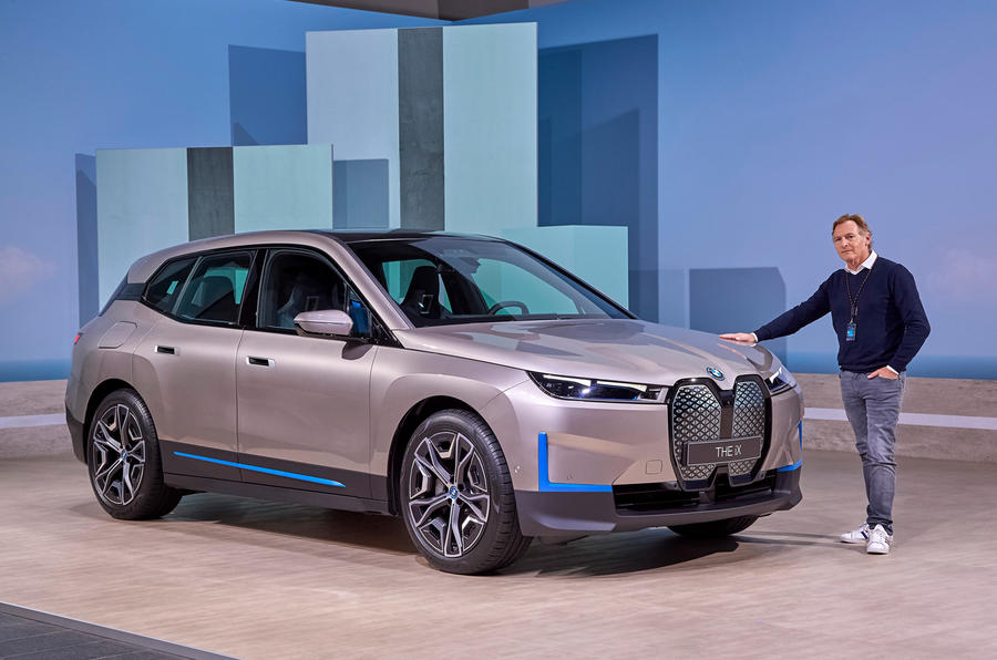 BMW iNext official images - Greg Kable static