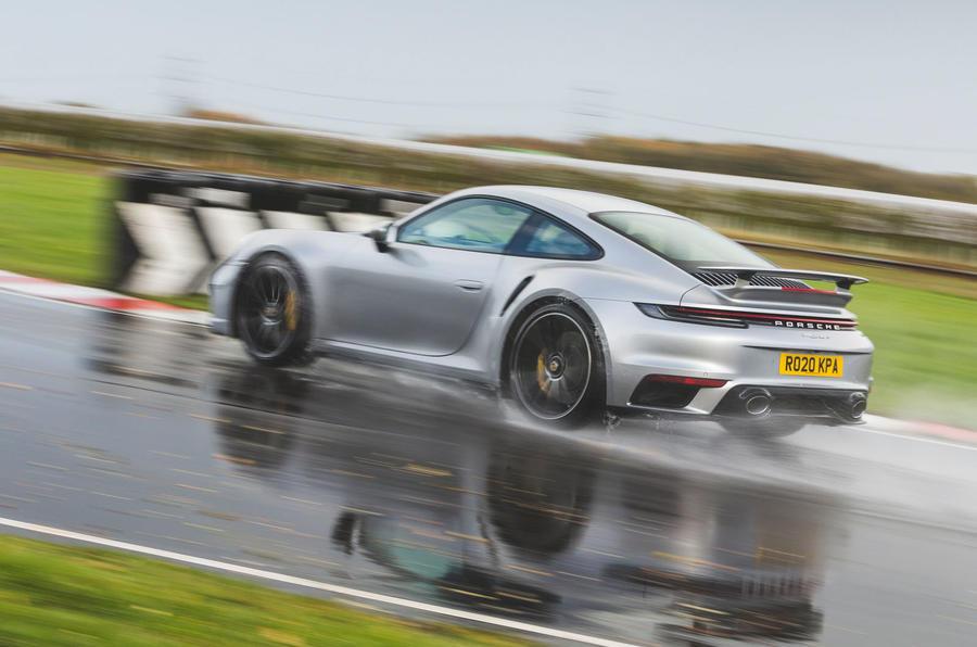 Britain's best drivers car 2020 - Porsche 911 Turbo S rear