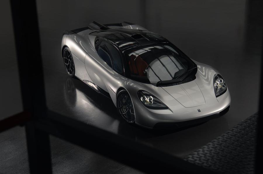 Gordon Murray Automotive T50 - static