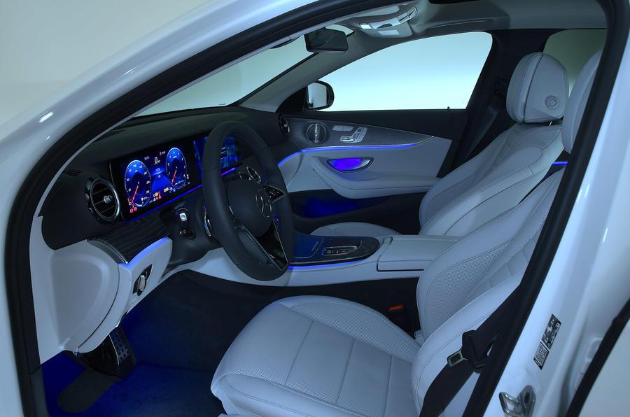 Mercedes-Benz E53 estate 2020 - interior