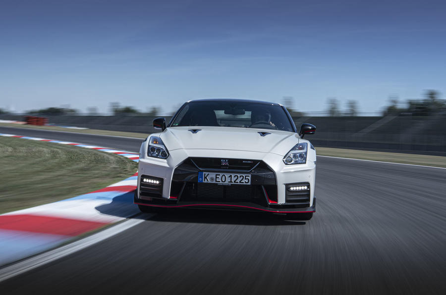 Nissan GT-R Nismo 2020 official reveal - track nose