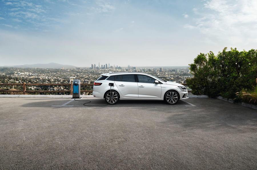 Renault megane 2020 refresh - etech charging
