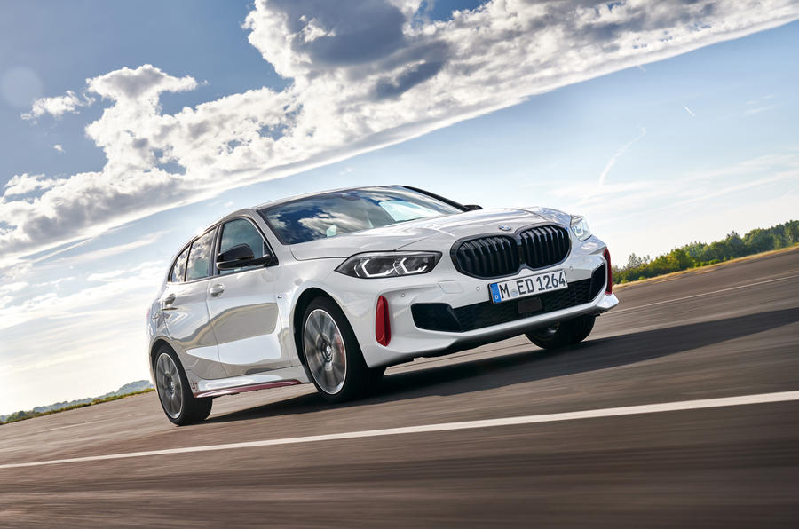 BMW 1 Series 128ti official reveal - track front