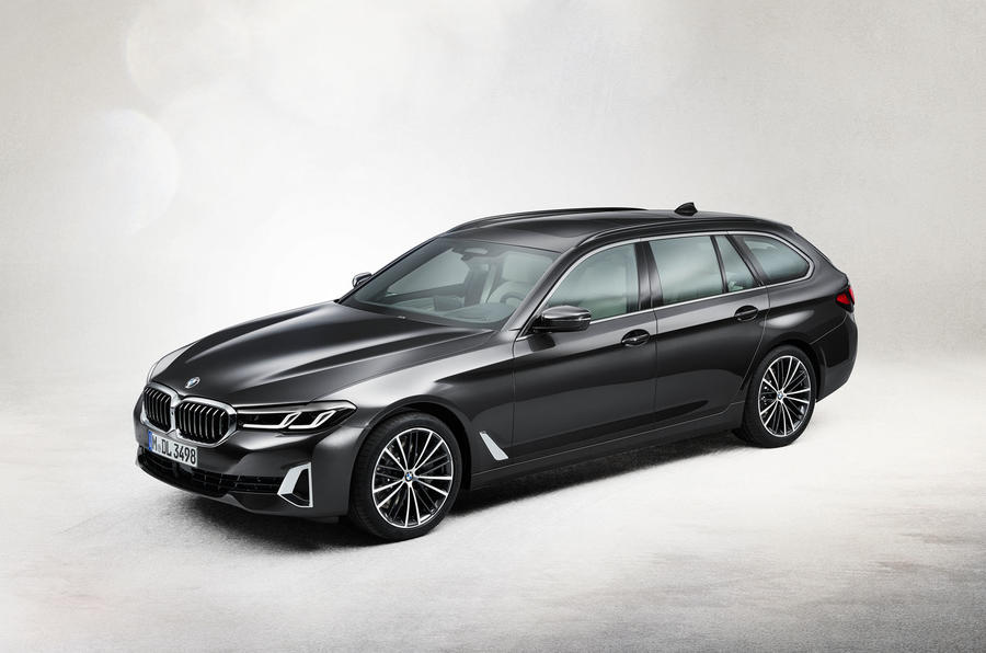 BMW 530i Touring 2020 facelift official images - static