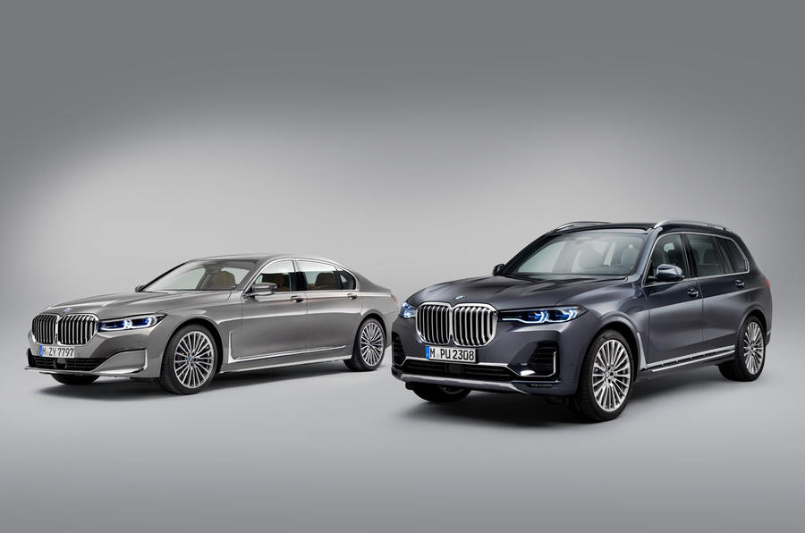 2019 BMW 7 Series official reveal - 7 Series and BMW X7