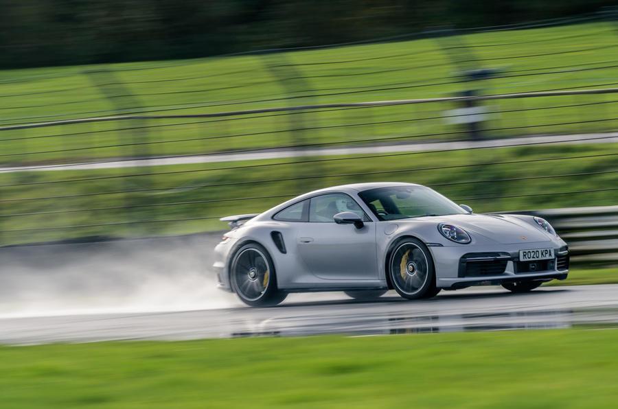 Britain's best drivers car 2020 - Porsche 911 Turbo S front