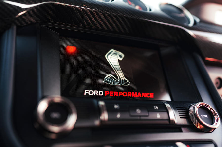 Ford Shelby Mustang GT500 official reveal - infotainment