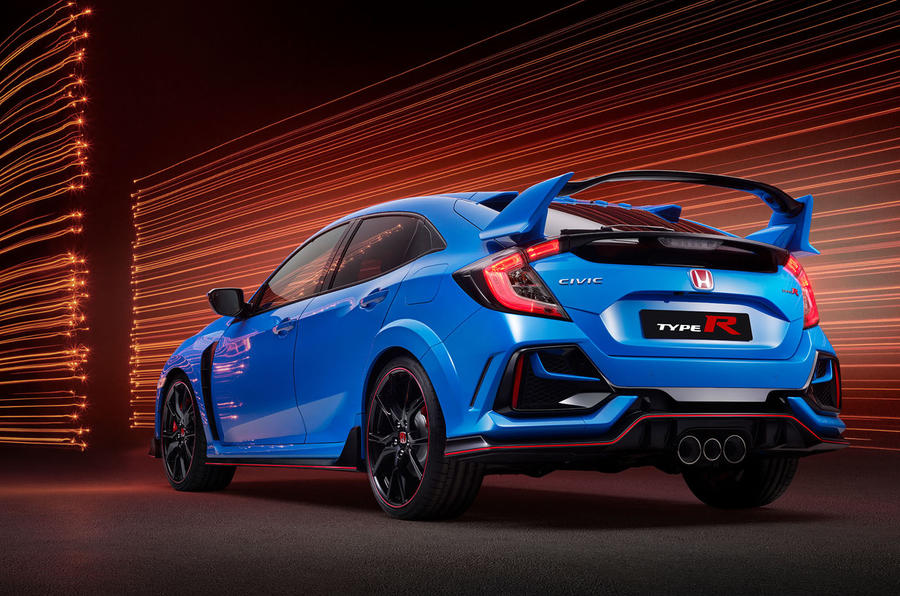 Honda Civic Type R 2020 official press photos - rear
