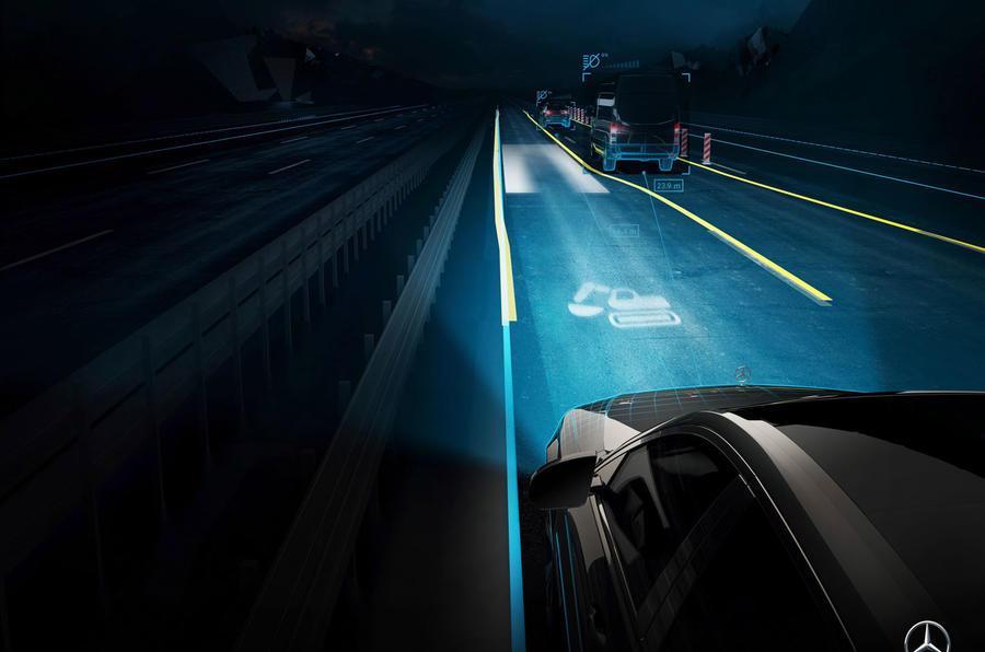 2021 Mercedes-Benz S-Class official reveal images - intelligent lights