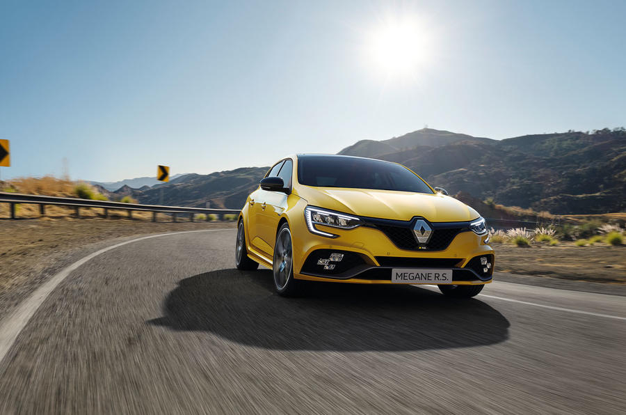 Renault megane 2020 refresh - RS tracking front