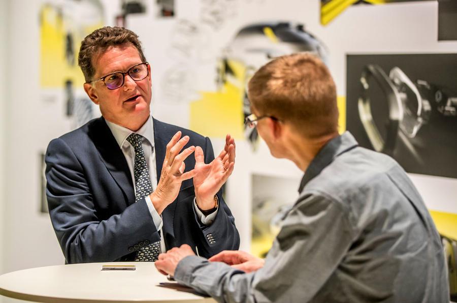 Renault Morphoz concept official studio images - interview