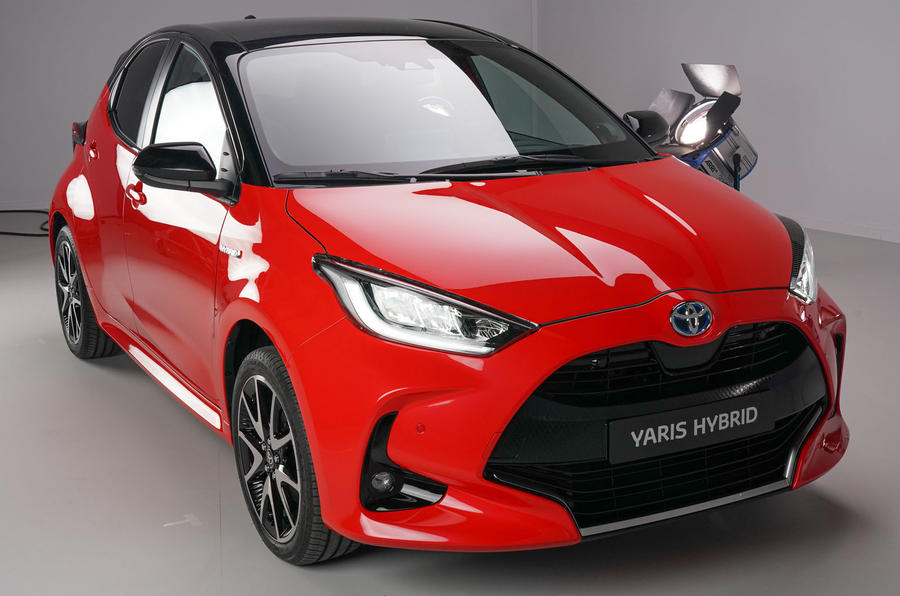 Toyota Yaris 2019 official studio - front