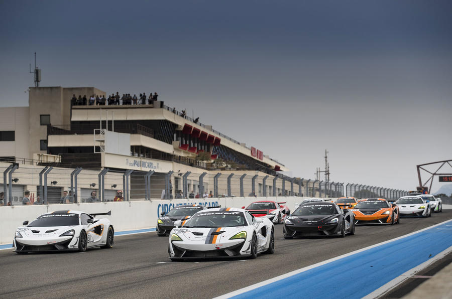 McLaren 570S GT4 racing series to launch in 2018