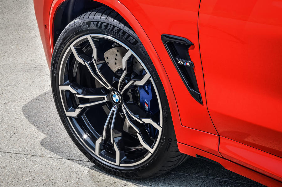 BMW X4M official press - alloy wheels