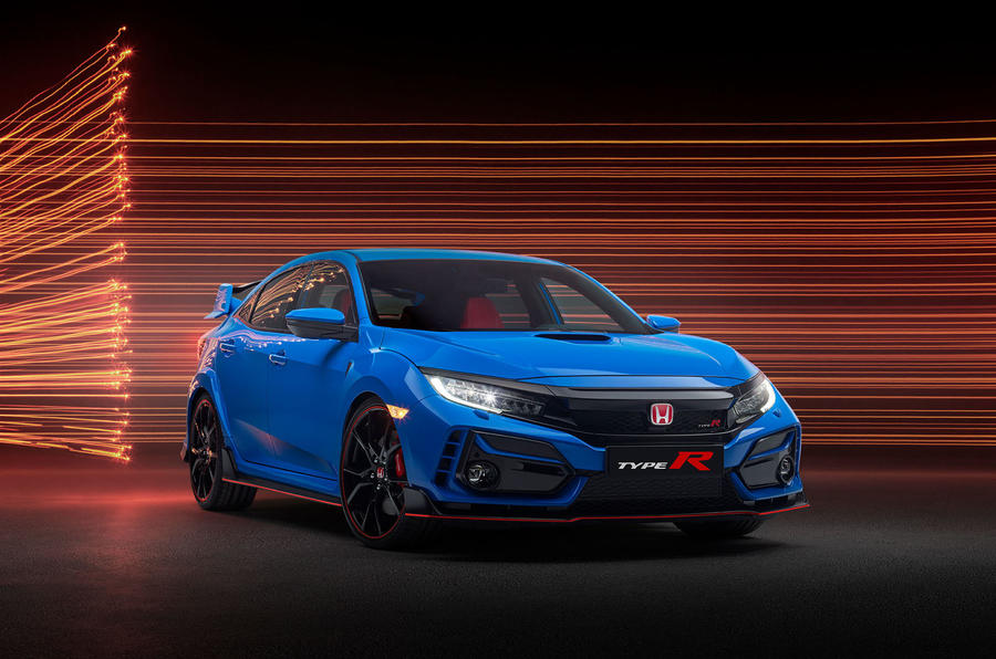 Honda Civic Type R 2020 official press photos - front