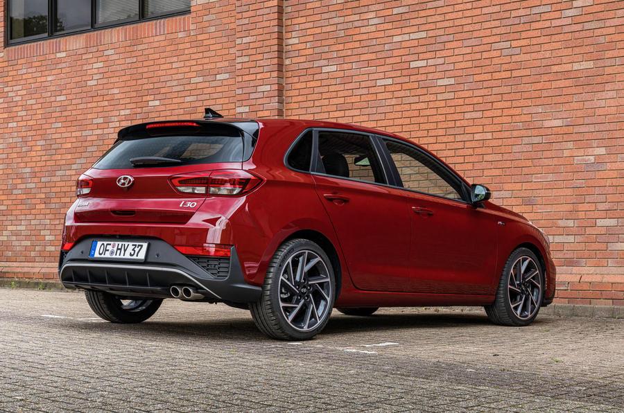 2020 Hyundai i30 N-Line prototype drive review - static rear