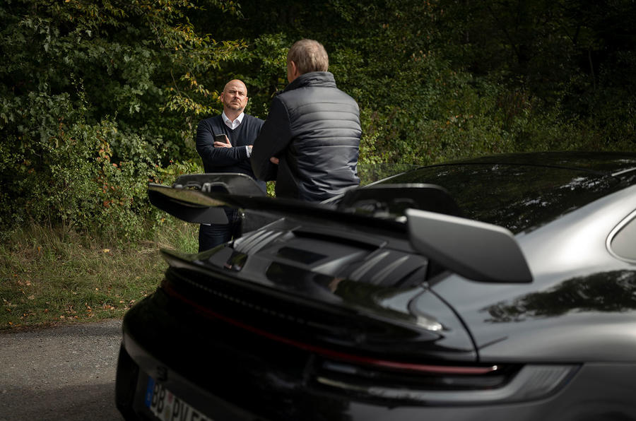 Porsche 911 GT3 2021 passenger ride - talking
