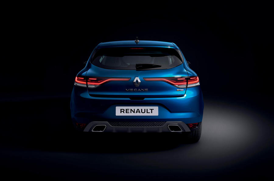 Renault megane 2020 refresh - RS line static rear