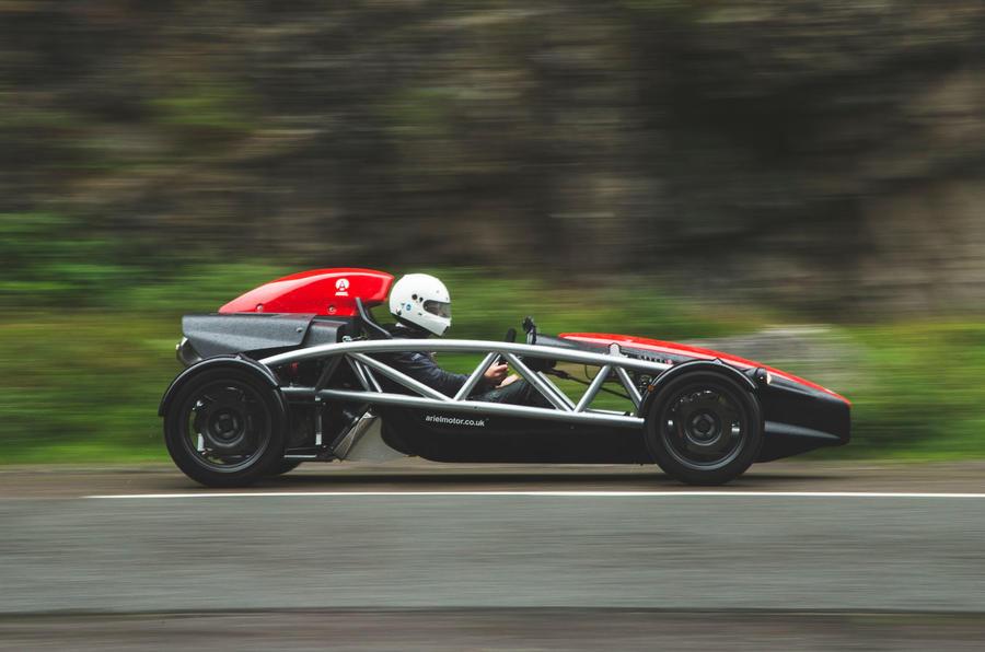Top 50 cars 2020 - final five - Ariel Atom 4 side
