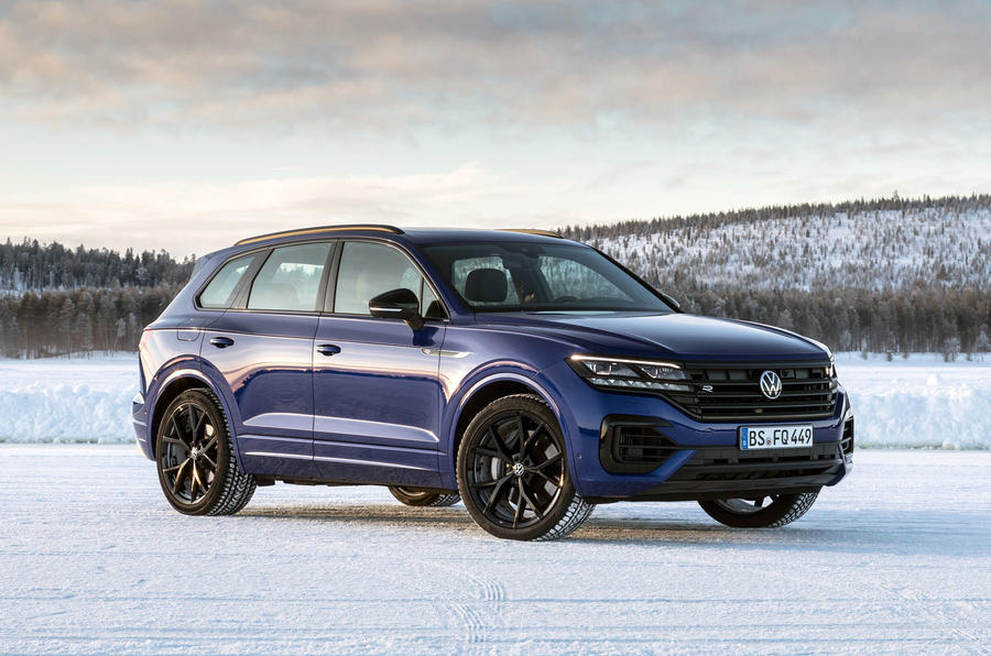 Volkswagen Touareg R 2020 official reveal images - static front
